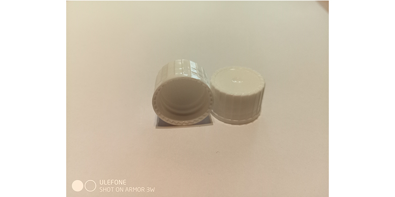 DIN 18 screw cap, PE foam